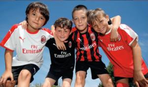 Milan Academy - camp de foot Epalinges 2019